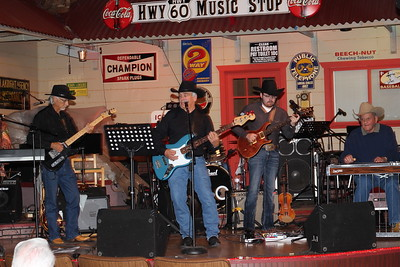 Let it Ride Band at Nowata Jubilee 3-25-17