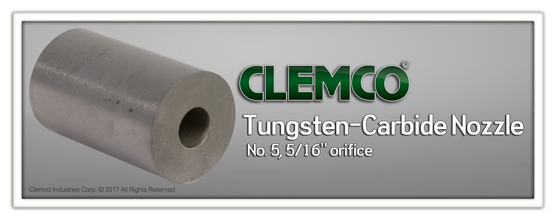 No. 5 Tungsten-Carbide Nozzle