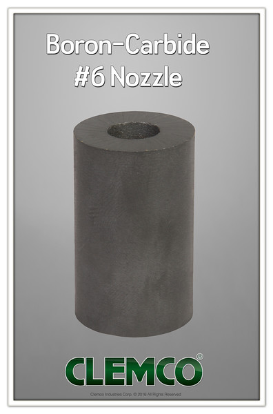 Boron-Carbide #6 Nozzle