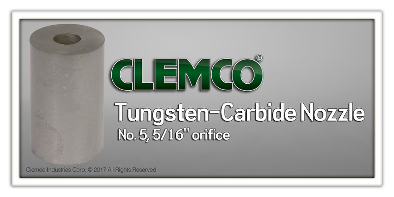 No. 5 Tungsten-Carbide Nozzle