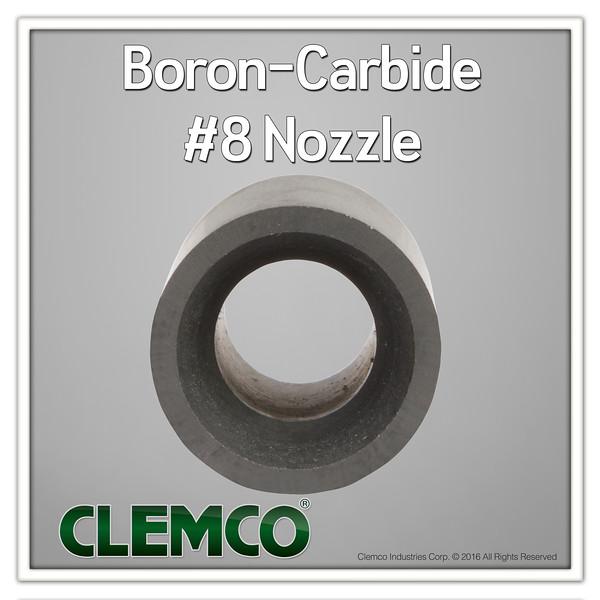 Boron-Carbide #8 Nozzle