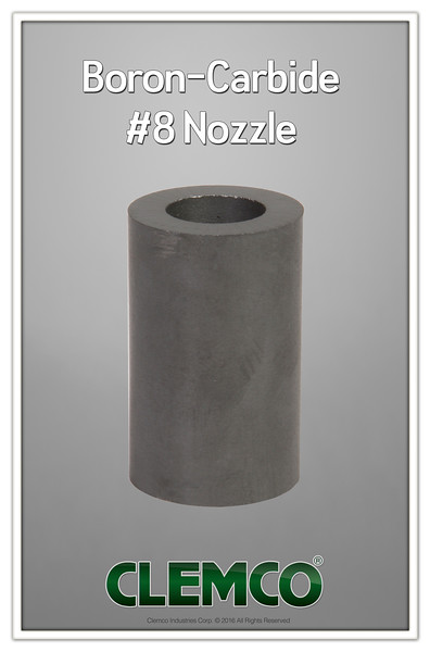Boron-Carbide #8 Nozzle