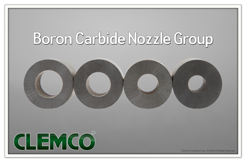 Boron-Carbide Nozzle Group