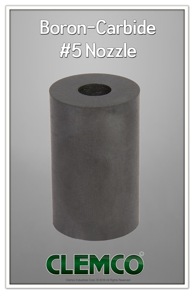 Boron-Carbide #5 Nozzle