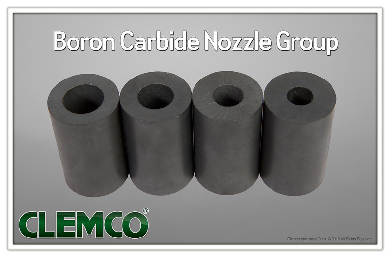 Boron-Carbide Nozzle Group