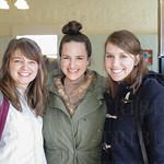 Katie Posten, Allison Sage and Elizabeth Pearce at Ghyslain.