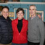 Gregory DuPont, Donna Veeneman and Gregg Keller ar Rellek.