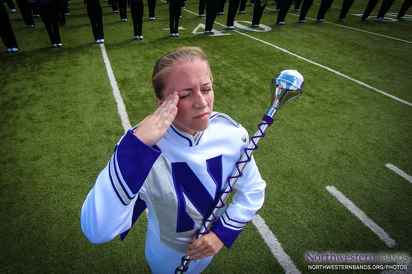 Drum Major Emily Liquin '16
