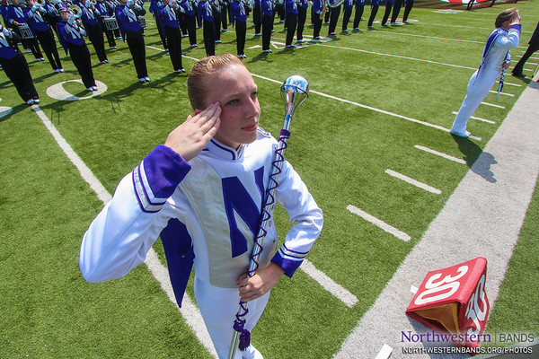Drum Major Elisabeth Sladek '16