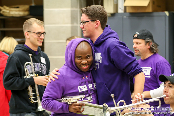 NUMBALUMS - Northwestern Homecoming Rehearsal - October 17, 2014