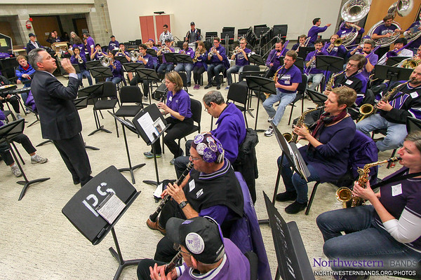 NUMB - Northwestern Homecoming Parade and Pep Rally - October 17, 2014