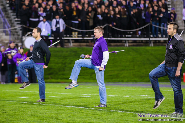 NUMBALUMS Step Off on Ryan Field