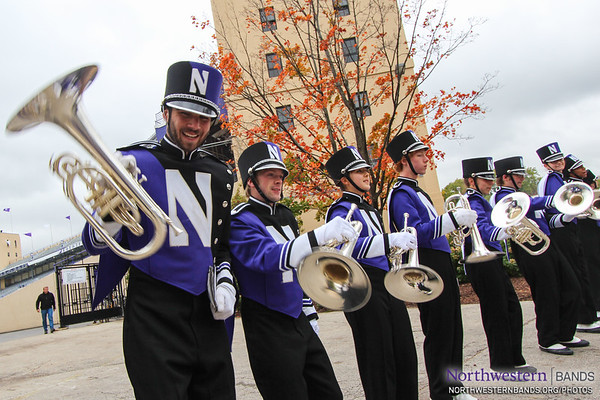 NUMB - Northwestern vs. Wisonsin - October 4, 2014