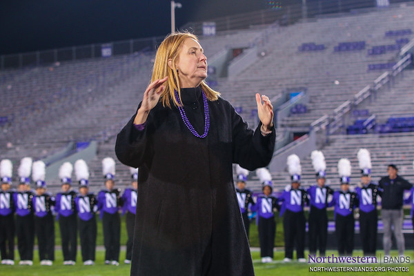 Dr. Mallory Thompson Conducts the University Hymn