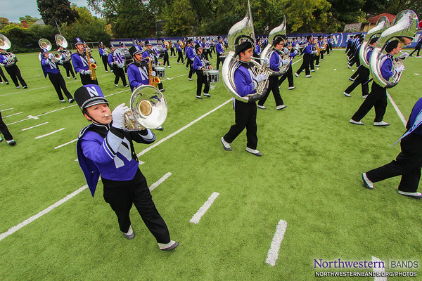 NUMB - Northwestern vs. Wisonsin - October 4, 2014