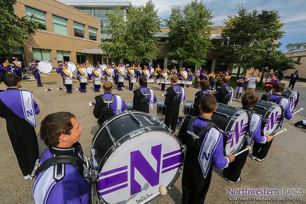 NUMB - Northwestern vs. Western Illinois - September 20, 2014