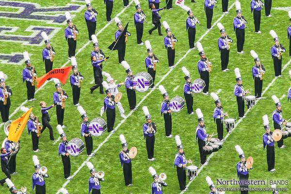 NUMB #NUBandDay - Northwestern vs. Stanford - September 5, 2015