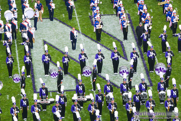 NUMB #NUBandDay - Northwestern vs. Stanford - September 5, 2015