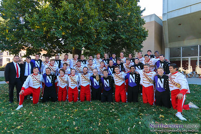 The Northwestern and Nebraska Drumlines