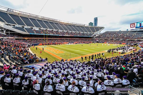 NUMB - Northwestern AT Illinois (Soldier Field) - November 28, 2015