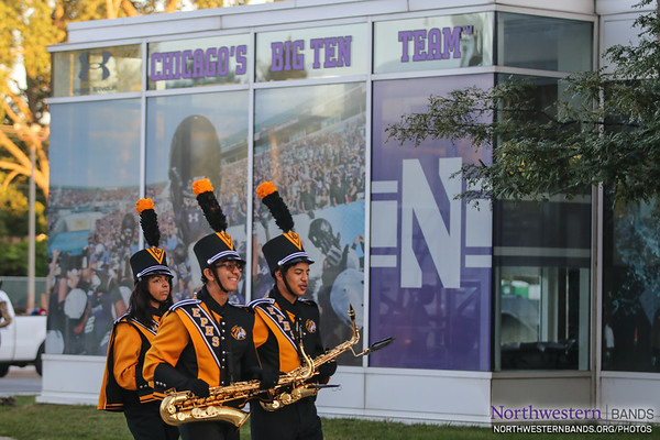 Welcome to #NUBandDay, Elmwood Park High School, and many more!