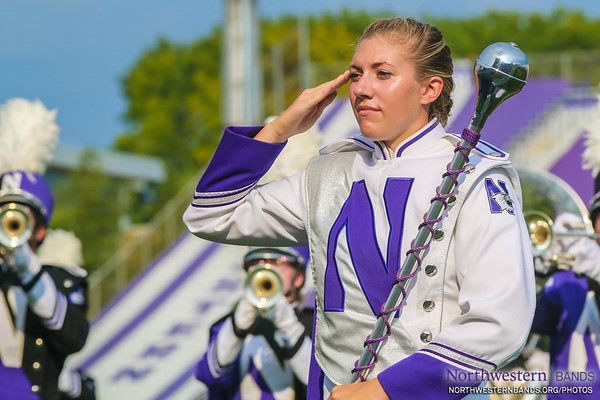 Drum Major Allison Grant