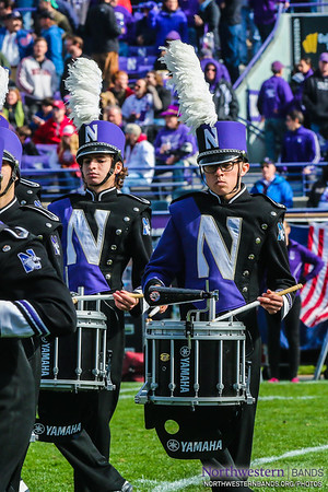 NUMB - Northwestern Football vs. Indiana - October 22, 2016