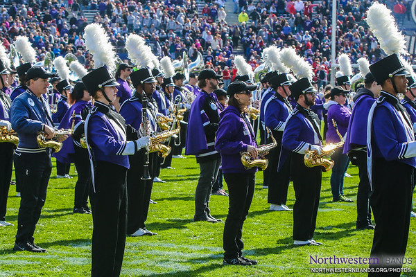 NUMB - Northwestern Football vs. Indiana - October 22, 2016