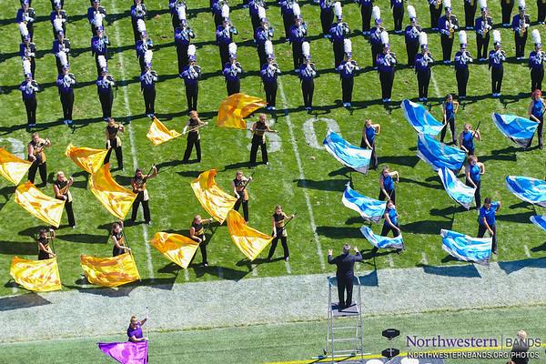 #NUBandDay - Northwestern vs. Western Michigan - September 3, 2016