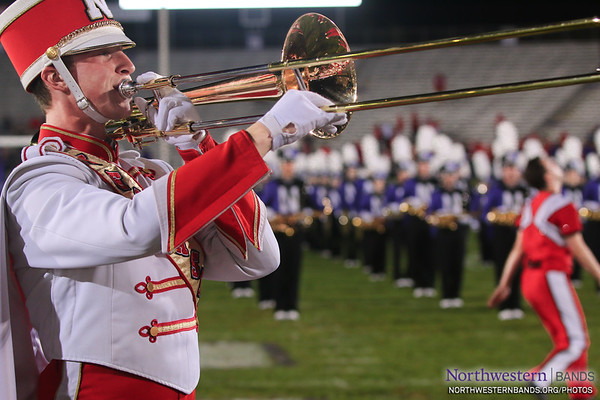 Cornhusker Marching Band - Northwestern Football vs. Nebraska - September 24, 2016