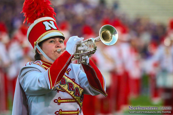 Cornhusker Marching Band - Northwestern Football vs. Nebraska - September 24, 2016