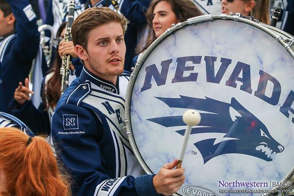 NUMB #NUBandDay - Northwestern Football vs. Nevada - September 2, 2017