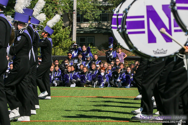NUMB #NUBandDay - Northwestern Football vs. Nevada - September 2, 2017