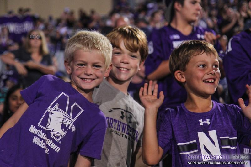 NUMB - Northwestern Football vs. Bowling Green - September 16, 2017