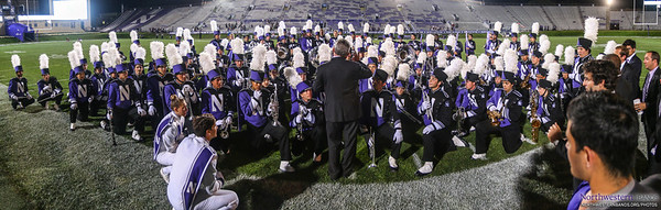 Mr. Farris Compliments the Wildcat Band