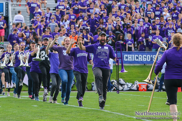 Our @NUMBALUMS Take the Field