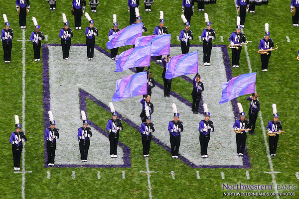 The Purple Banner Waving High