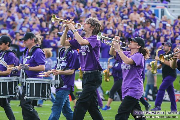 """Go U, Northwestern!"" with @NUMBALUMS"