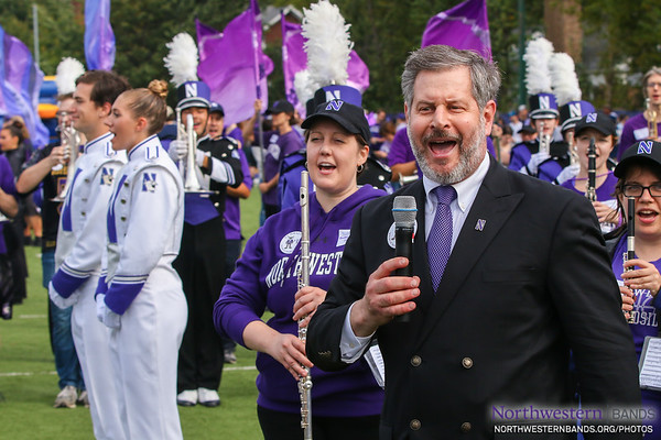 Voice of the Wildcat Band Pete Friedmann '79 Welcomes You to #NUhomecoming