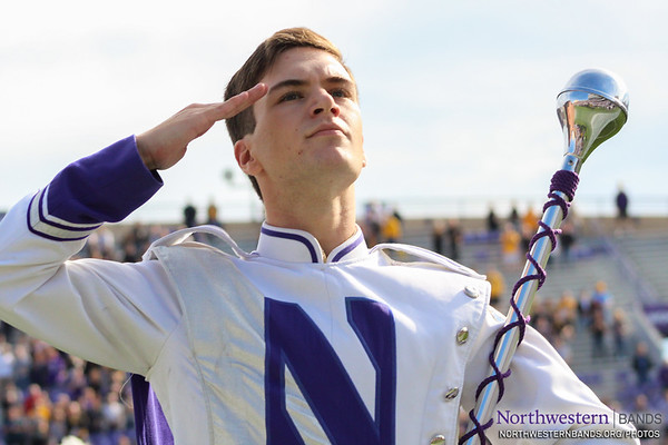 Drum Major Nicholas Pecora