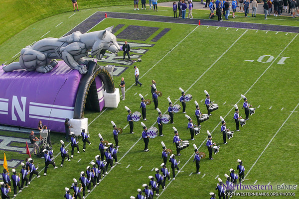 NUMB - Northwestern Football vs. Iowa - October 22, 2017