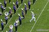Drum Major Nicholas Pecora Takes the Field