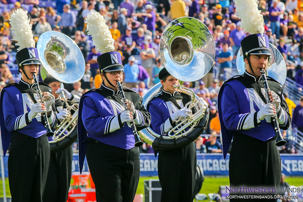 Two Sousas and Three Clarinets March into a Stadium...
