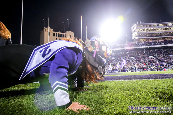 ...And the Victory Push Ups... ('CATS WIN!)