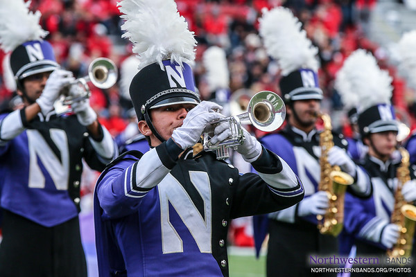 """Rhapsody in Purple"" for @UNLincoln and @UNLbands"
