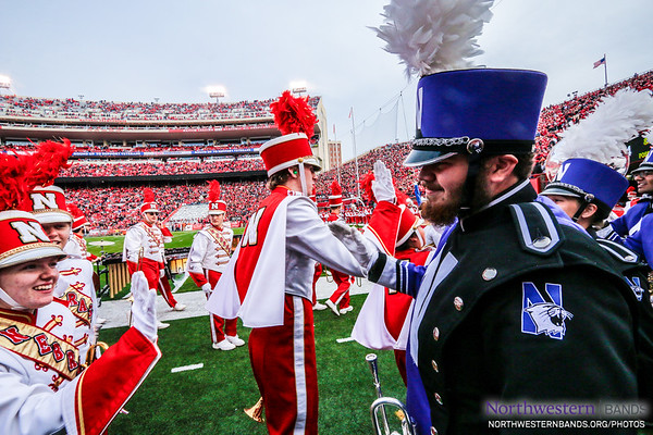 Kudos to @UNLbands for a Great Halftime!