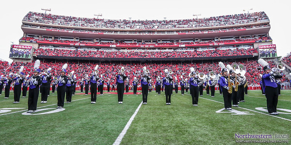 Thanks To @UNLbands For Hosting Us at Memorial Stadium!