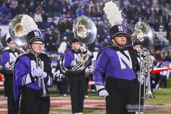 NUMB - Northwestern Football vs. Purdue - November 11, 2017
