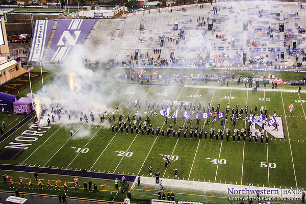 Welcome to Northwestern Senior Day 2017