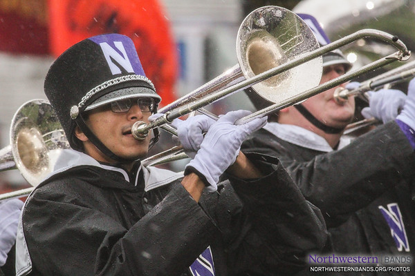 Soggy Fanfare for Northwestern